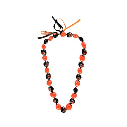 Cincinnati Bengals Kukui Nut Necklace