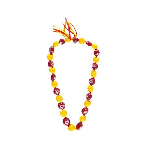 Kansas City Chiefs Kukui Nut Necklace