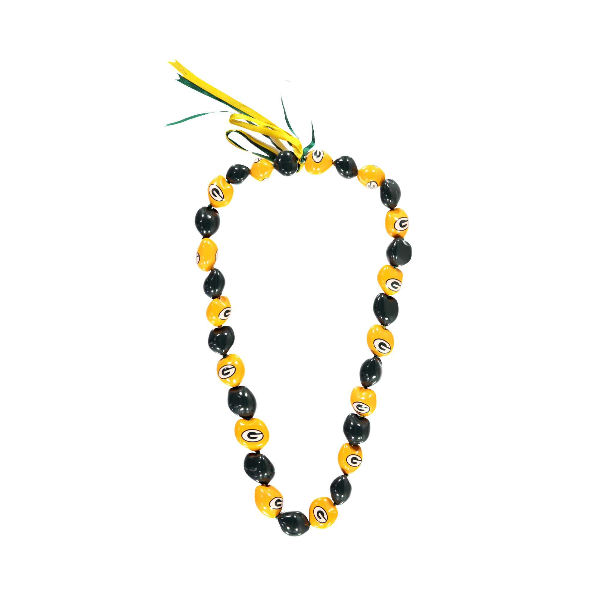 Green Bay Packers Kukui Nut Necklace