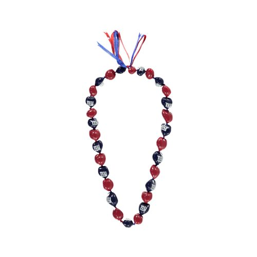 New York Giants Kukui Nut Necklace