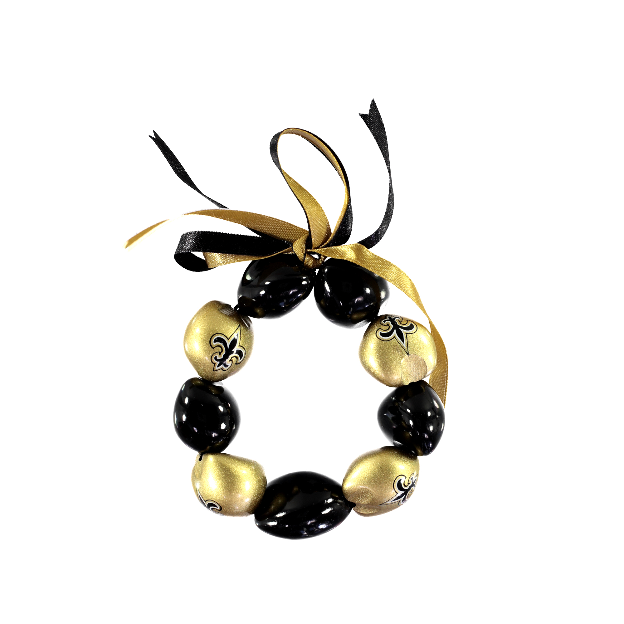 New Orleans Saints - Kukui Nut Bracelet