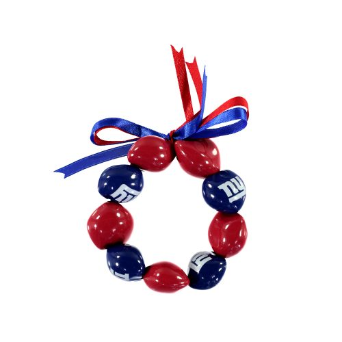 New York Giants Kukui Nut Bracelet