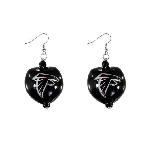 Atlanta Falcons Kukui Nut Earrings