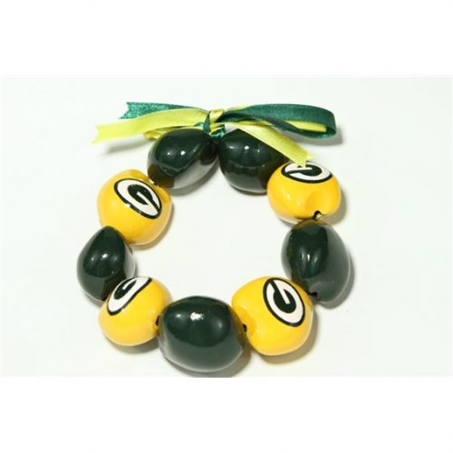 NFL Green Bay Packers Kukui Nut Bracelet